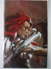 Red Sonja vs. Thulsa Doom #4 Retailer Del Otto Virgin Variant